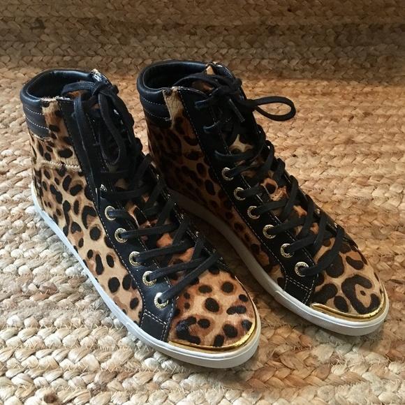 Ted Baker Merip Leopard Sneakers